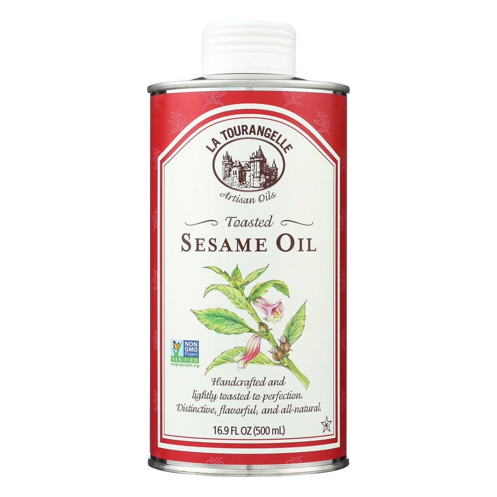 La Tourangelle Sesame Oil - Case Of 6 - 16.9 Fl Oz.