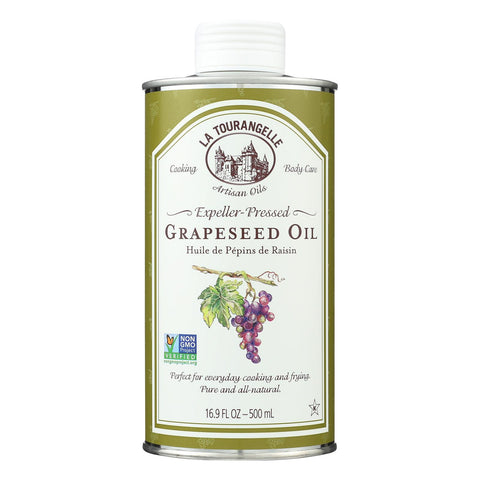 La Tourangelle Grapeseed Oil - Case Of 6 - 16.9 Fl Oz.