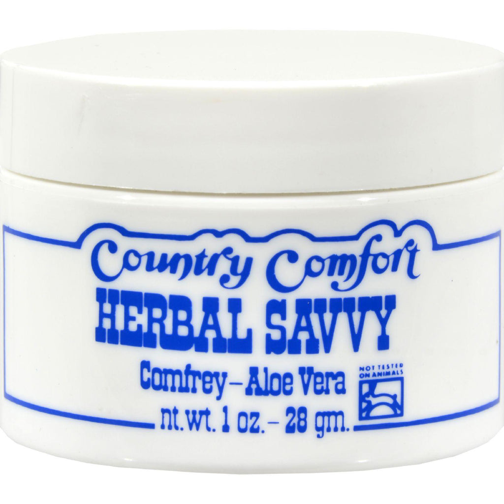 Country Comfort Herbal Savvy Comfrey Aloe Vera - 1 Oz