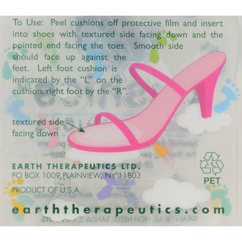 Earth Therapeutics Cushies Foot Cushion - 2 Pads