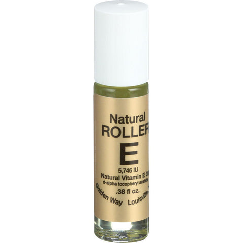 Golden Way Natural Vitamin E Roller - .38 Oz - Case Of 9