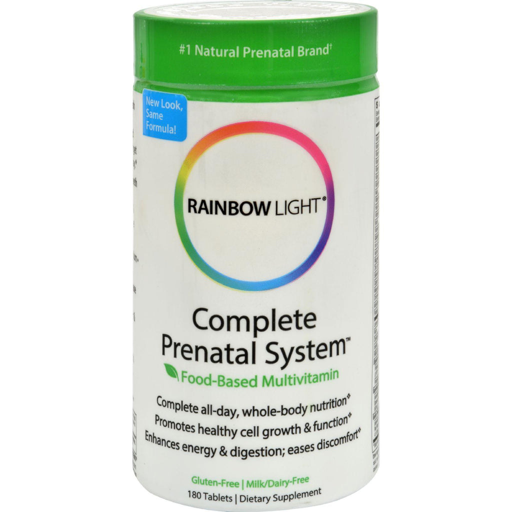 Rainbow Light Complete Prenatal System - 180 Tablets