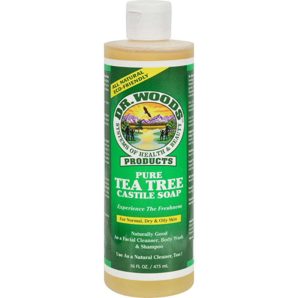 Dr. Woods Pure Castile Soap Tea Tree - 16 Fl Oz