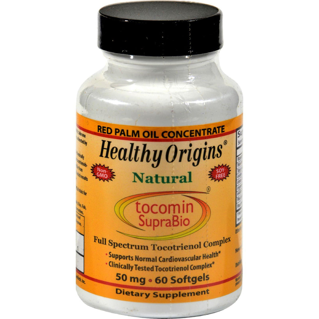 Healthy Origins Tocomin Suprabio - 50 Mg - 60 Softgels