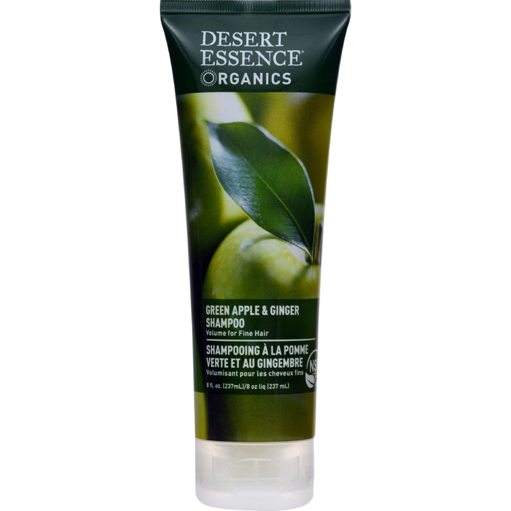 Desert Essence Shampoo Green Apple And Ginger - 8 Fl Oz