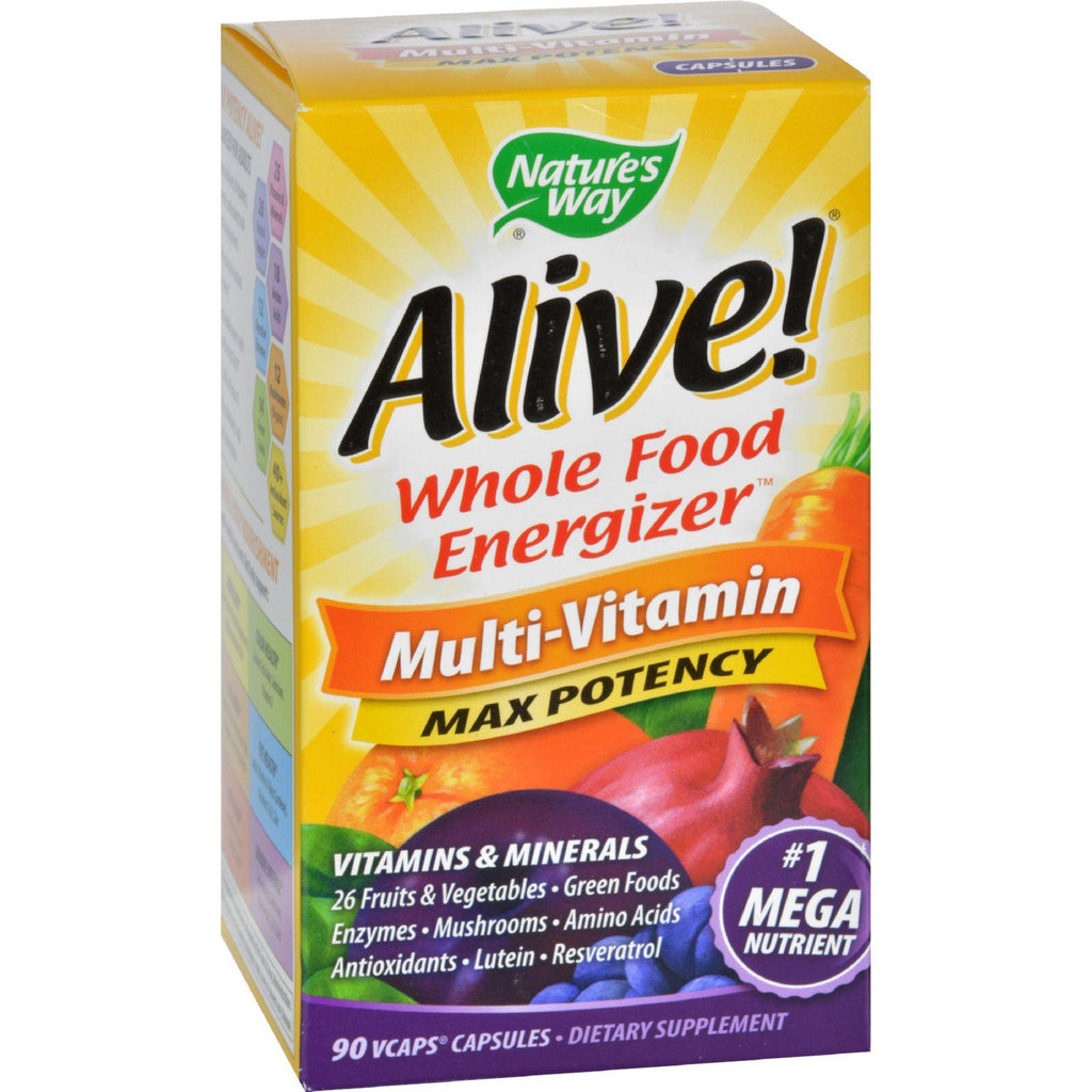 Nature's Way Alive Multi-vitamin - 90 Vcaps