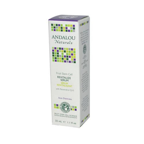Andalou Naturals Age Defying Revitalize Serum Fruit Stem Cell - 1.1 Fl Oz