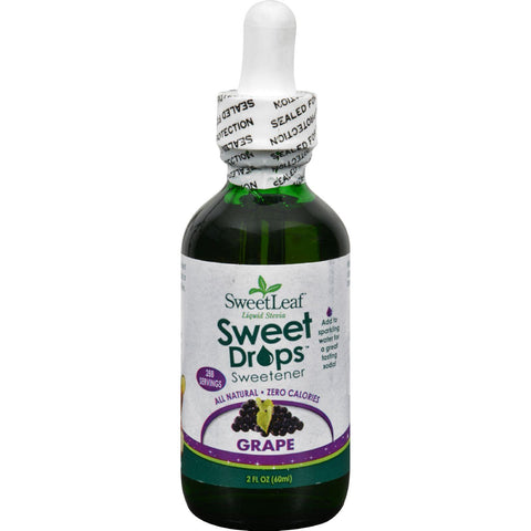 Sweet Leaf Sweet Drops Sweetener Grape - 2 Fl Oz