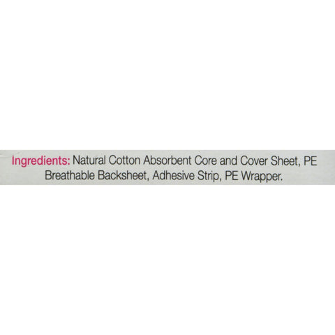 Maxim Hygiene Natural Cotton Ultra Thin Pantiliners Light Days - 24 Pads