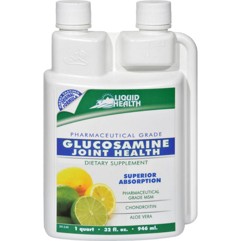 Liquid Health Glucosamine With Chondroitin And Msm - 32 Fl Oz