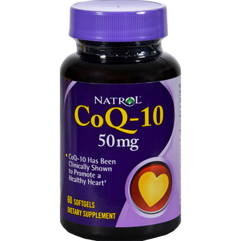 Natrol Coq-10 - 50 Mg - 60 Softgels