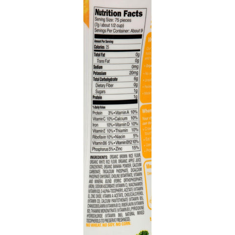 Happy Baby Organic Puffs Banana - 2.1 Oz - Case Of 6