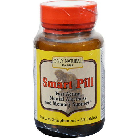 Only Natural Smart Pill - 30 Tablets