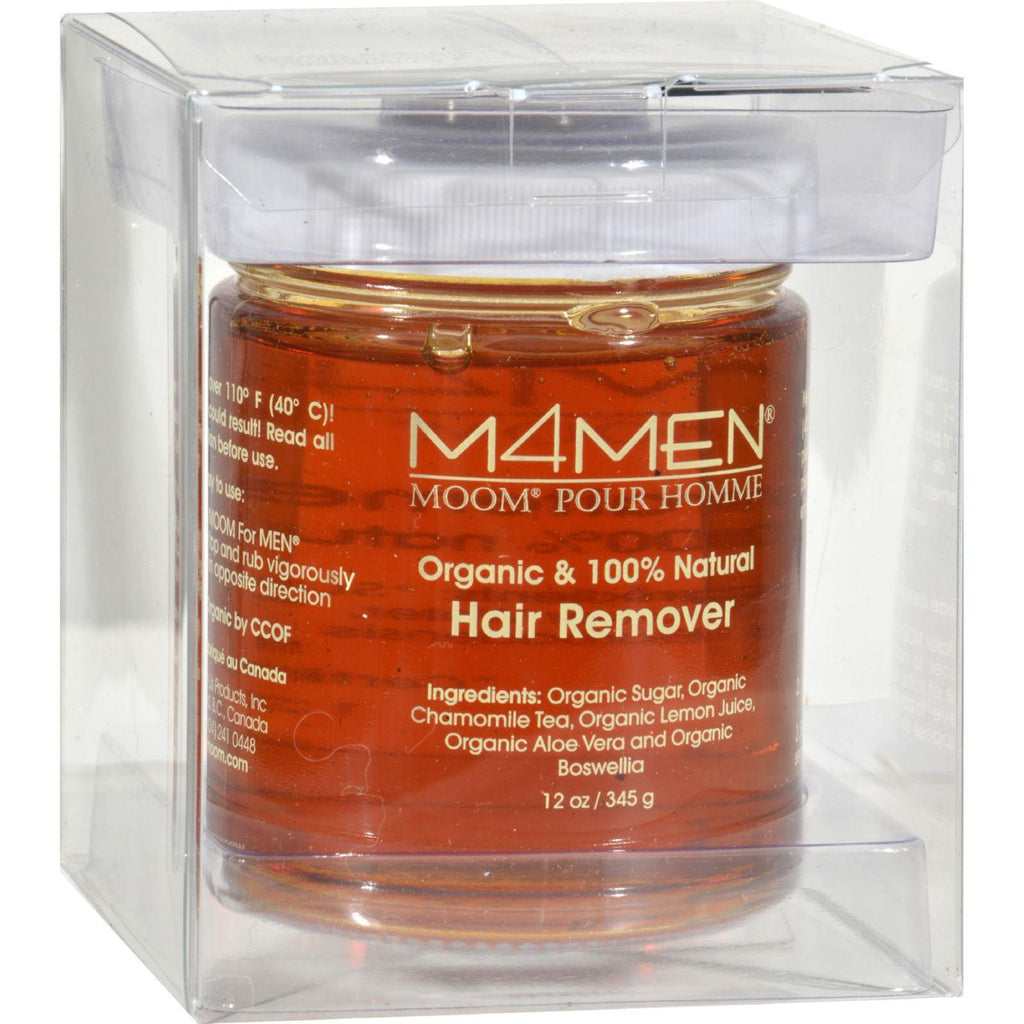 Moom For Men Hair Removal System Refill Jar - 12 Oz