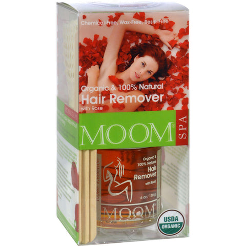 Moom Organic Hair Remover Kit - 1 Kit
