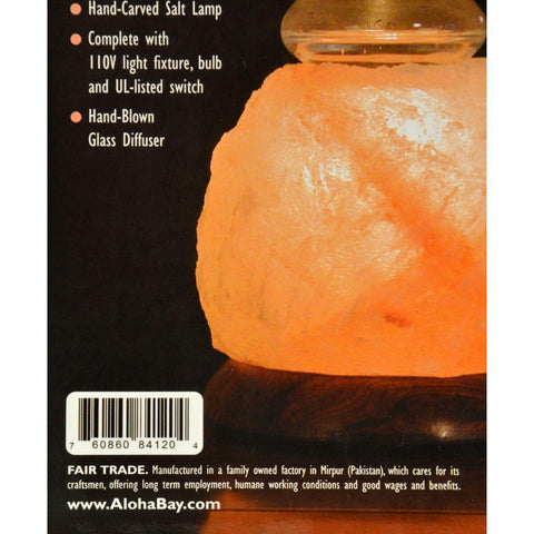 "Himalayan Salt Crystal Lamp 5"" - 1 Lamp"