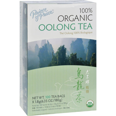 Prince Of Peace Organic Oolong Tea - 100 Tea Bags