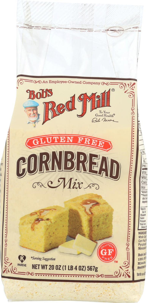 Bob's Red Mill Gluten Free Cornbread Mix - 20 Oz - Case Of 4
