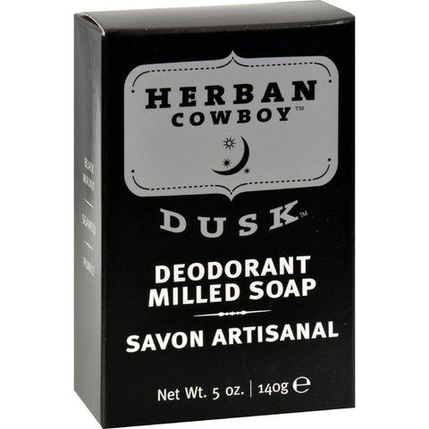 Herban Cowboy Milled Bar Soap Dusk - 5 Oz