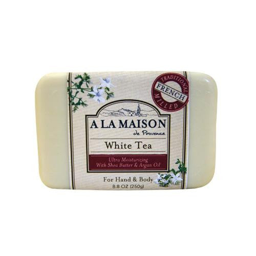 A La Maison Bar Soap White Tea - 8.8 Oz