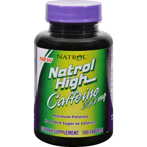 Natrol High Caffeine - 200 Mg - 100 Tablets