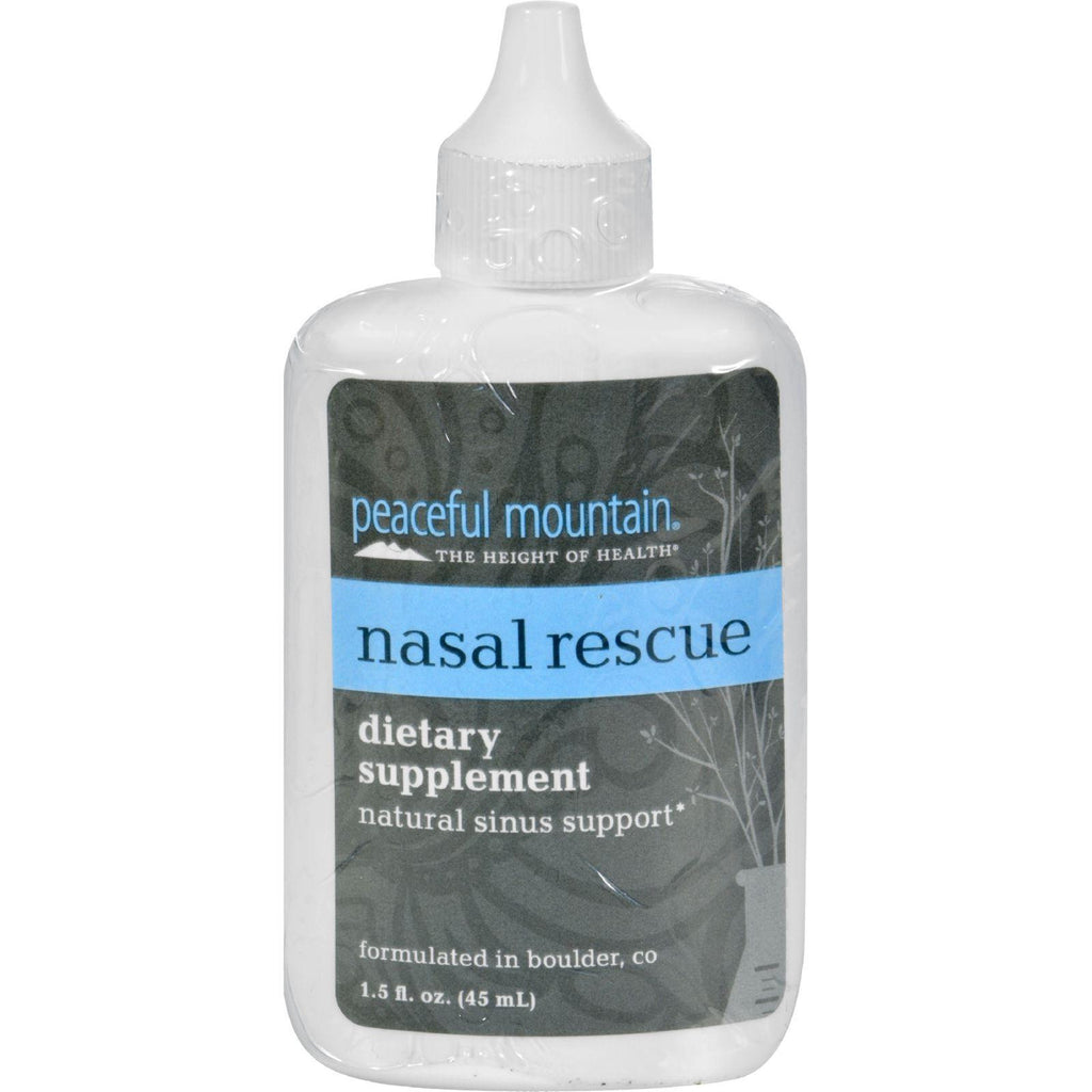 Peaceful Mountain Nasal Rescue - 1.5 Fl Oz