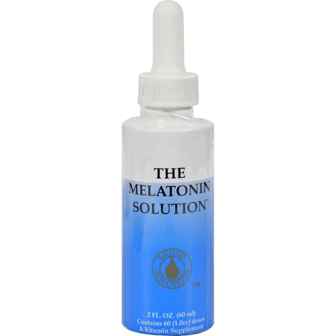 Sublingual Products Melatonin Solution - 2 Fl Oz