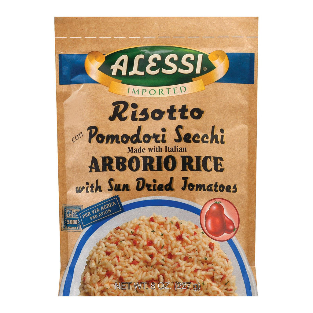 Alessi Pomodoro Risotto - Sun Dried Tomatoes - Case Of 6 - 8 Oz.