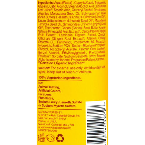 Alba Botanica Hawaiian Hand And Body Lotion Cocoa Butter - 24 Fl Oz