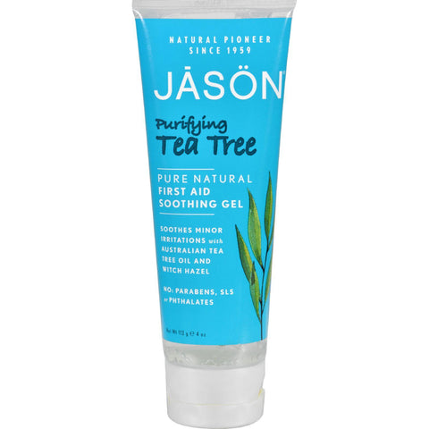Jason First Aid Soothing Gel Tea Tree - 4 Oz
