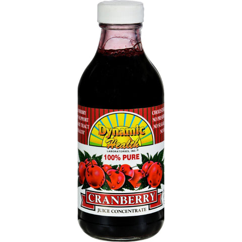 Dynamic Health Pure Cranberry Juice Concentrate - 8 Fl Oz