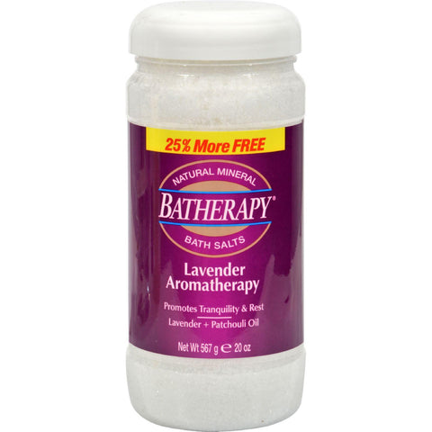 Queen Helene Batherapy Mineral Bath Salts Lavender - 1 Lb