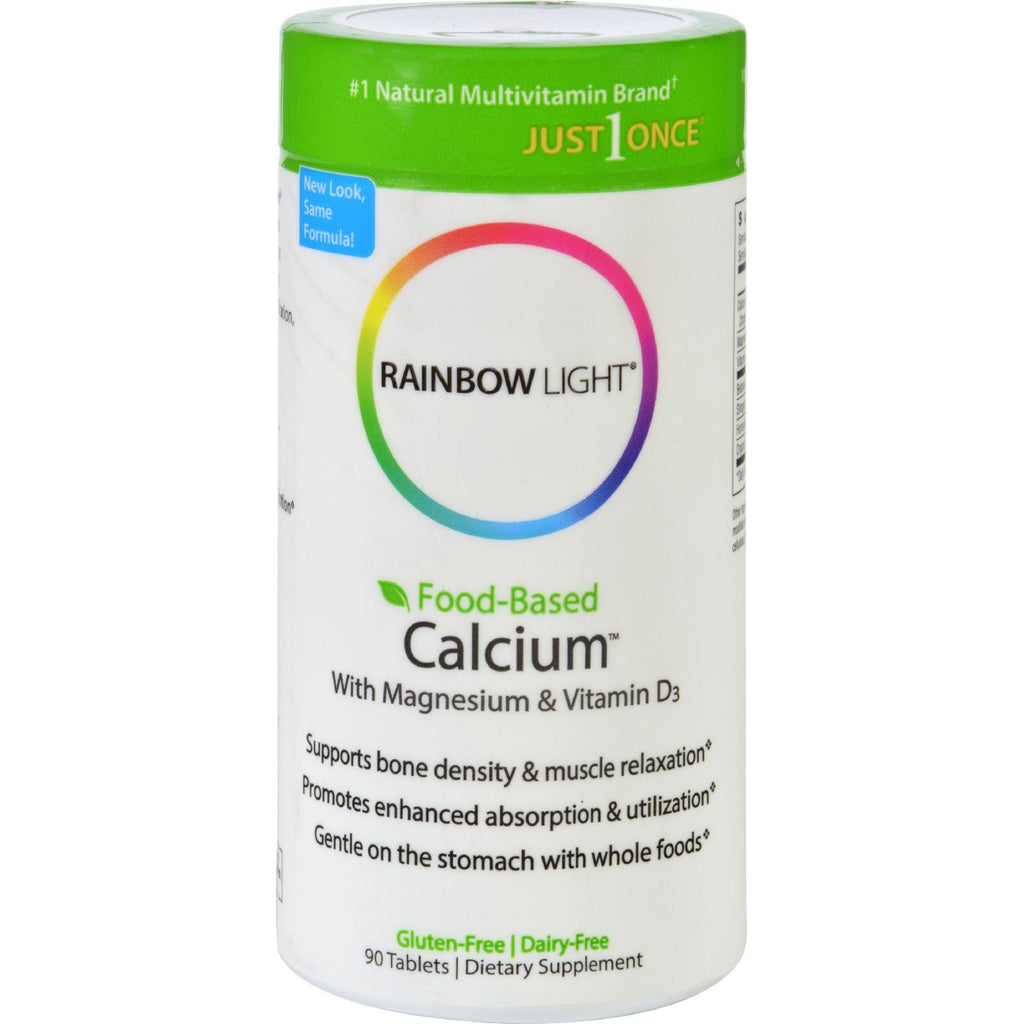 Rainbow Light Food-based Calcium - 90 Tablets