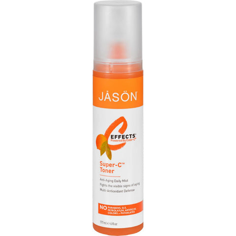 Jason Pure Natural Super-c Toner - 6 Fl Oz