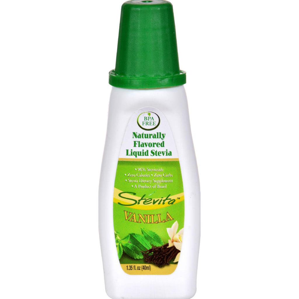 Stevita Flavors All Natural Flavored Stevia Vanilla - 1.35 Fl Oz