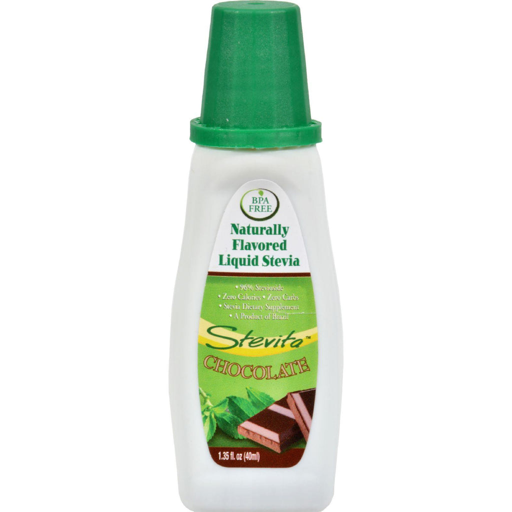 Stevita Flavors All Natural Flavored Stevia Chocolate - 1.35 Fl Oz