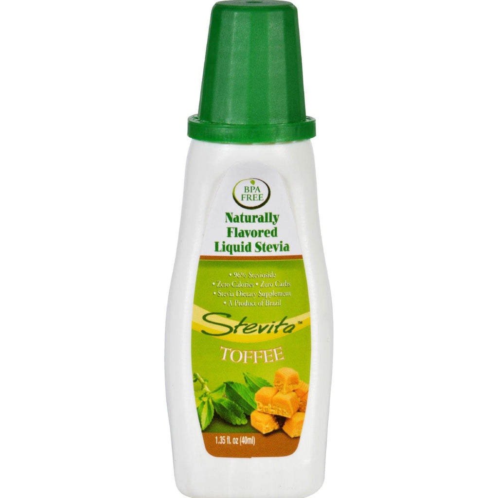 Stevita Flavors Naturally Flavored Liquid Stevia Toffee - 1.35 Oz