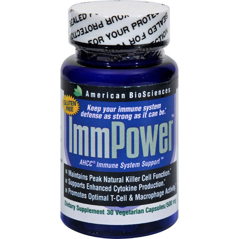 American Bio-sciences Immpower Ahcc - 500 Mg - 30 Capsules