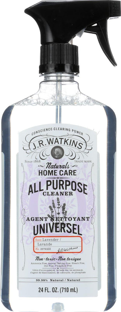 J.r. Watkins All Purpose Cleaner - Lavender - 24 Oz