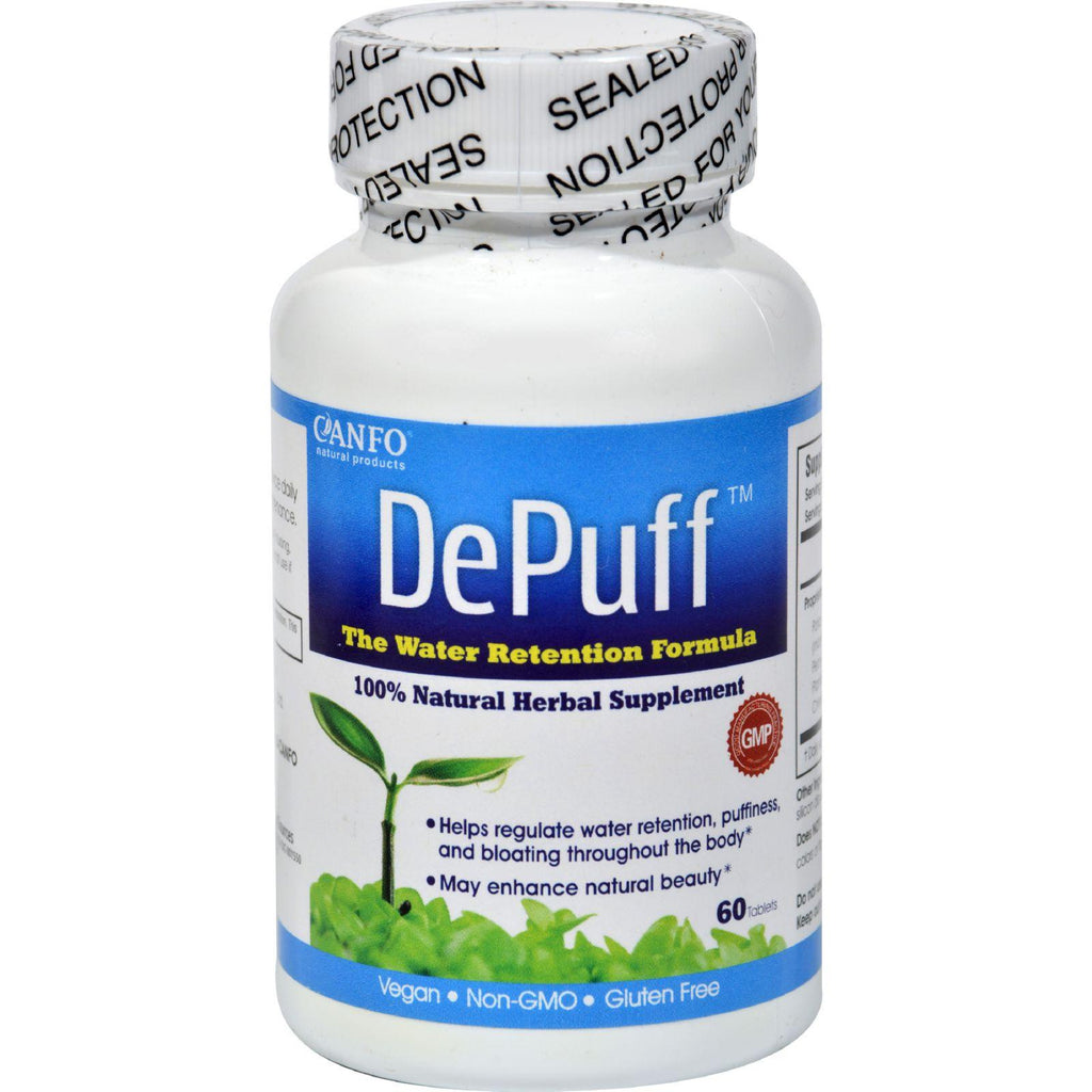 Canfo Natural Products Depuff - 60 Tablets