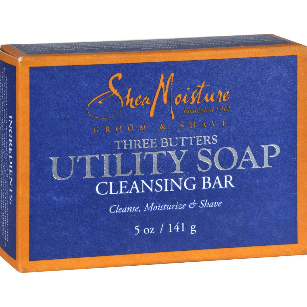 Sheamoisture Men's Utility Soap - 5 Oz