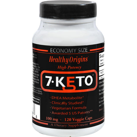 Healthy Origins 7-keto Dhea Metabolite - 100 Mg - 120 Vegetarian Capsules