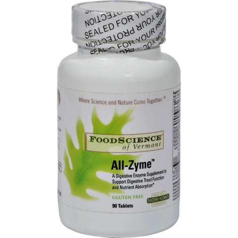 Foodscience Of Vermont All-zyme - 90 Tablets