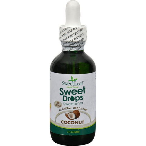 Sweet Leaf Liquid Stevia - Coconut - 2 Fl Oz