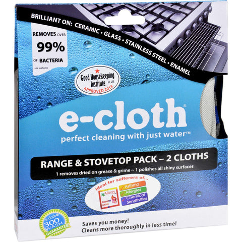 E-cloth Range And Stovetop Pack - 2 Pack