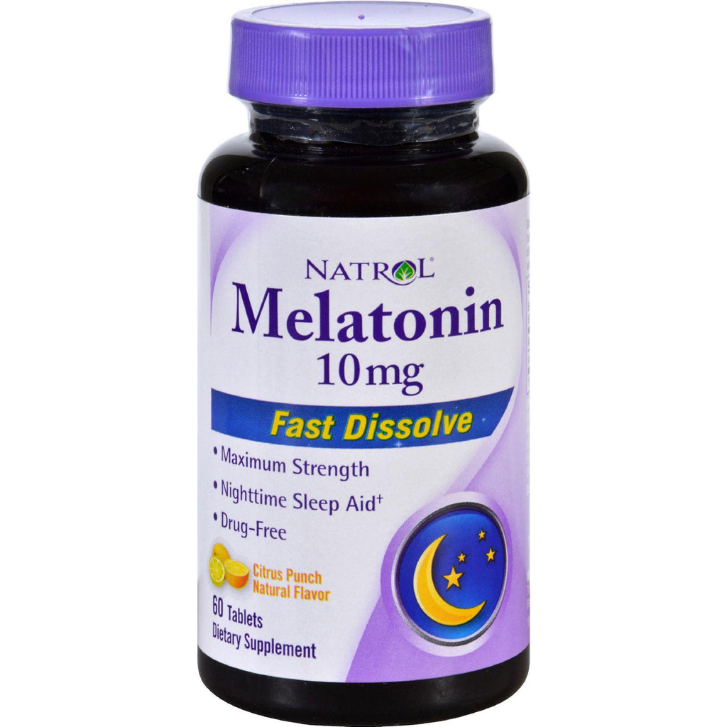 Natrol Melatonin - 10 Mg - 60 Tablets