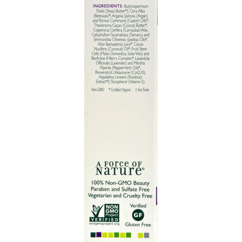 Andalou Naturals Lip Remedy Argan + Mint - .4 Oz