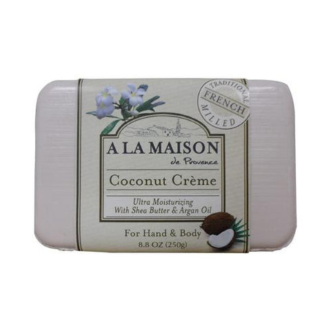 A La Maison Bar Soap - Coconut Creme - 8.8 Oz