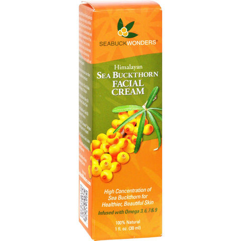 Seabuck Wonders Sea Buckthorn Facial Cream - 1 Oz