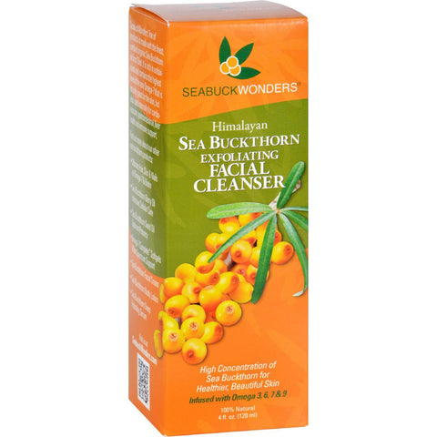 Seabuck Wonders Sea Buckthorn Exfoliating Cleanser - 4 Oz